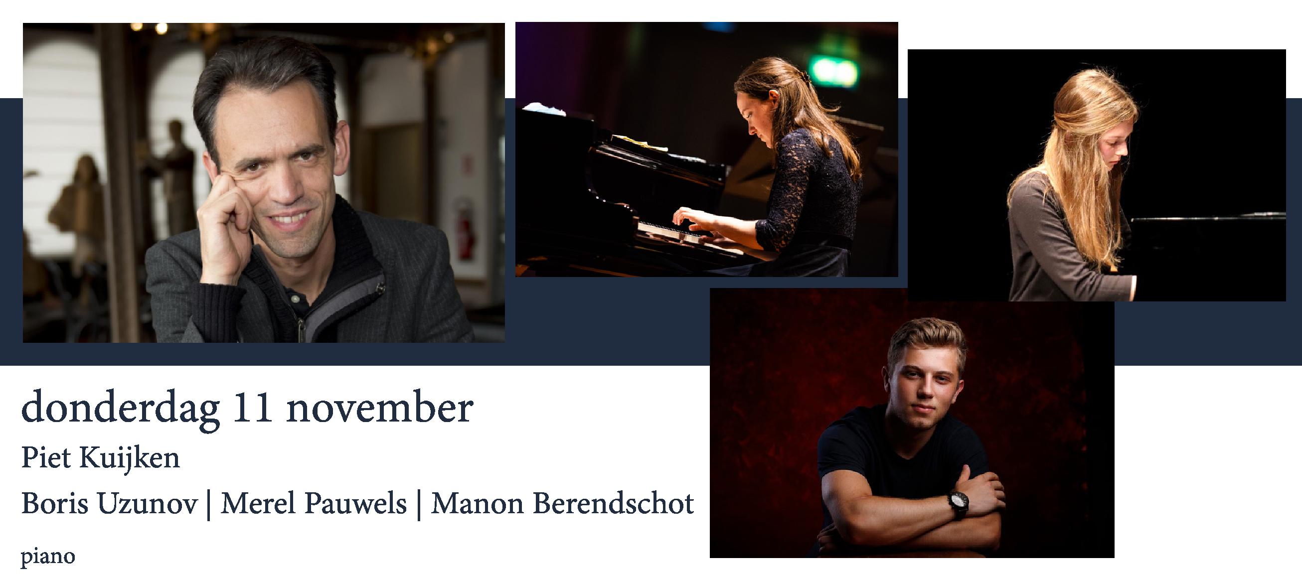 Piet Kuijken | Boris Uzunov | Merel Pauwels | Manon Berendschot